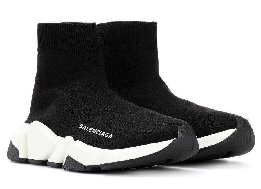 Кроссовки Balenciaga Speed Trainer (Black/White)