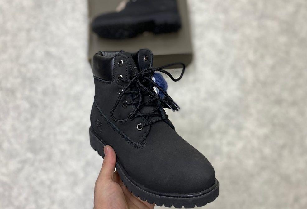 Timberland 6 Inch Premium Waterproof Boots черные на меху
