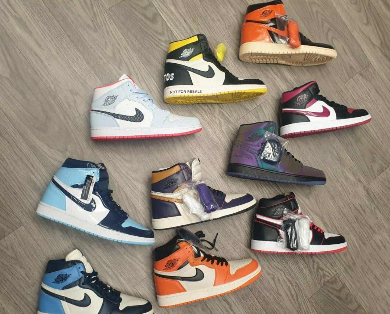 """высокие зеленые Nike Air Jordan 1 High """"Pine Green"""""""