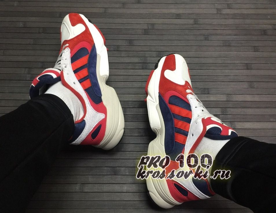 Кроссовки Adidas Yung-1 Red Navy