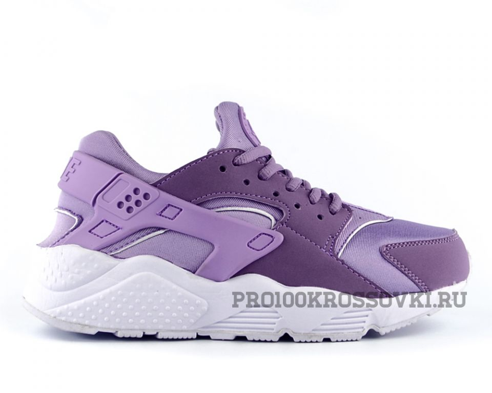 Женские кроссовки Nike Air Huarache сиреневые