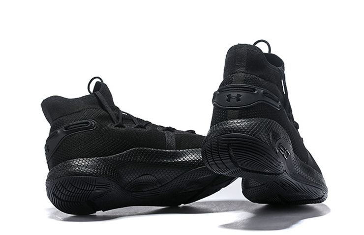 Under Armour Basketball Curry 6 High Cushioning Black