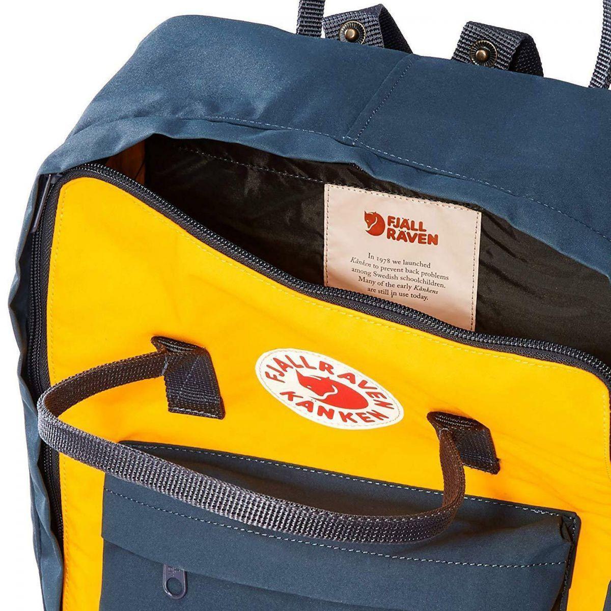 Рюкзак Kanken Classic Navy-Warm Yellow