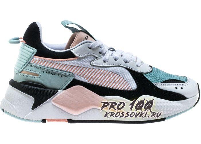 Puma RS-X Reinvention White Pink Aqua