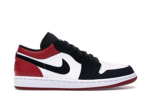 """Nike Air Jordan 1 Retro """"Black Toe"""" Low"""