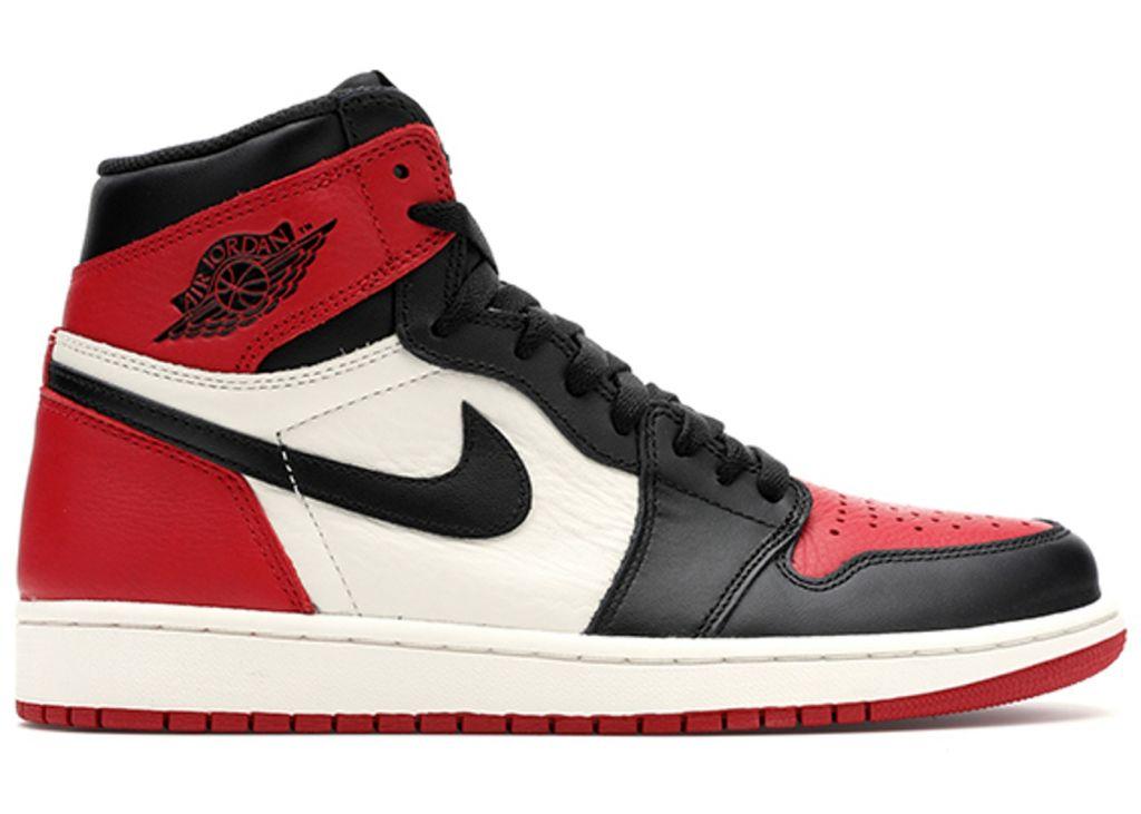 высокие кроссовки Jordan 1 Retro High Bred Toe