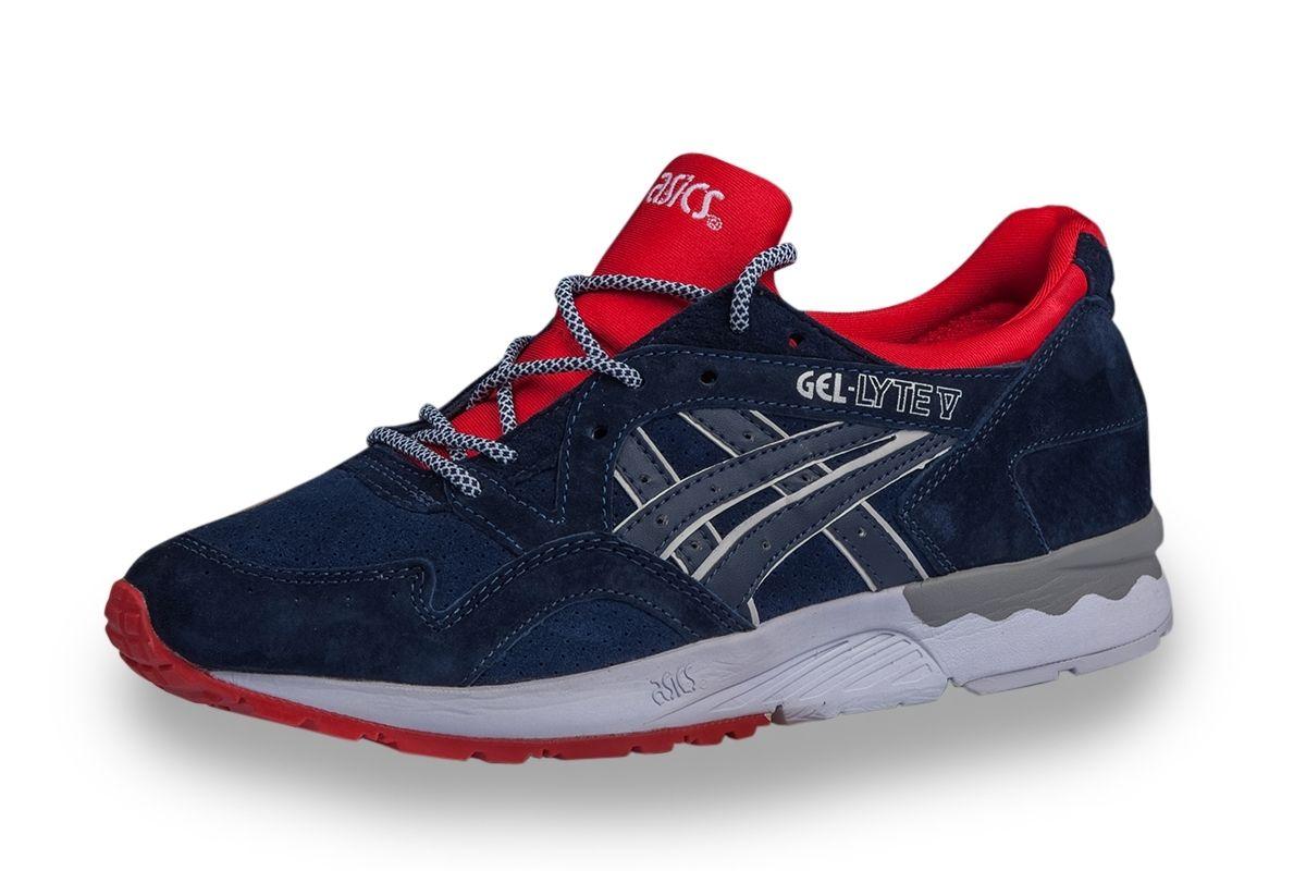 ccd65a2f ... Купить мужские кроссовки Asics Gel Lyte 5 (синие/красн) ...