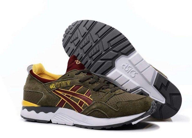 Купить мужские кроссовки Asics Gel Lyte 5 коричневые