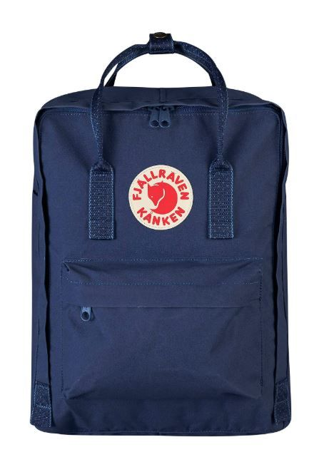 Рюкзак Kanken Classic Royal Blue-Pinstripe Pattern