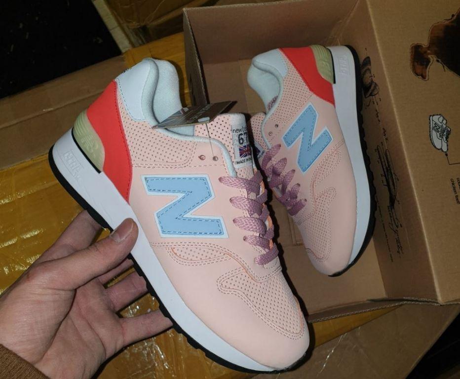 New Balance 670 женские розовые