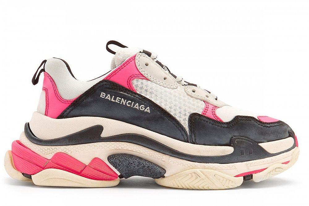 Кроссовки Balenciaga Triple S Black Pink