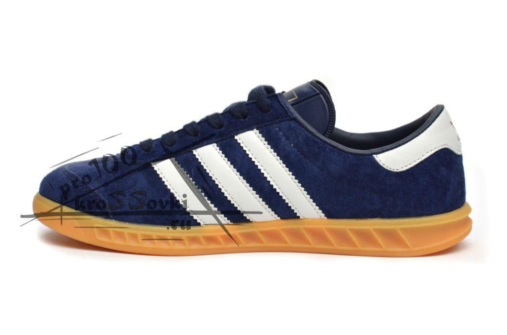 Adidas Hamburg синие