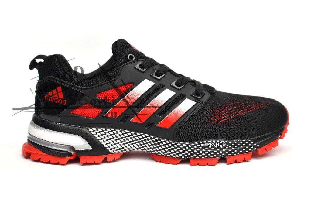 Adidas Marathon  черно-красные