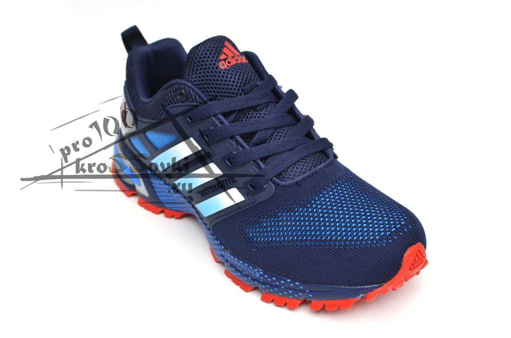 Adidas Marathon синие c красным