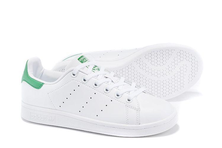 Adidas Stan Smith (белые/зеленые)