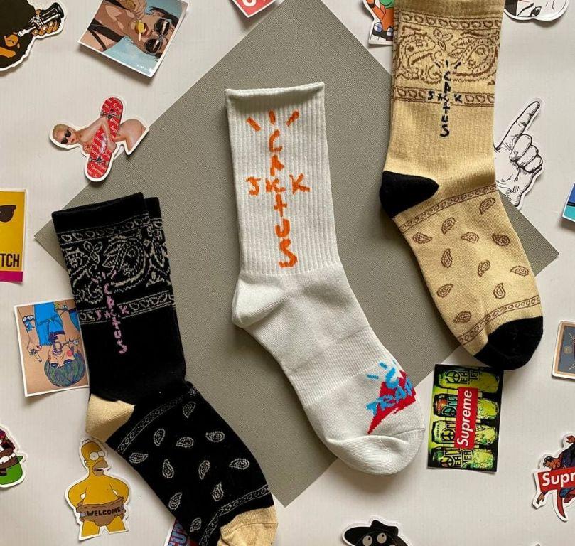 Стильные носки Cactus Jack