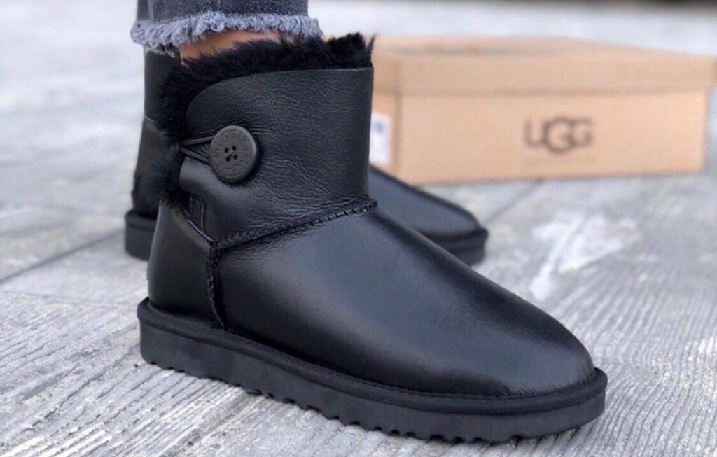 UGG Bailey Mini Black
