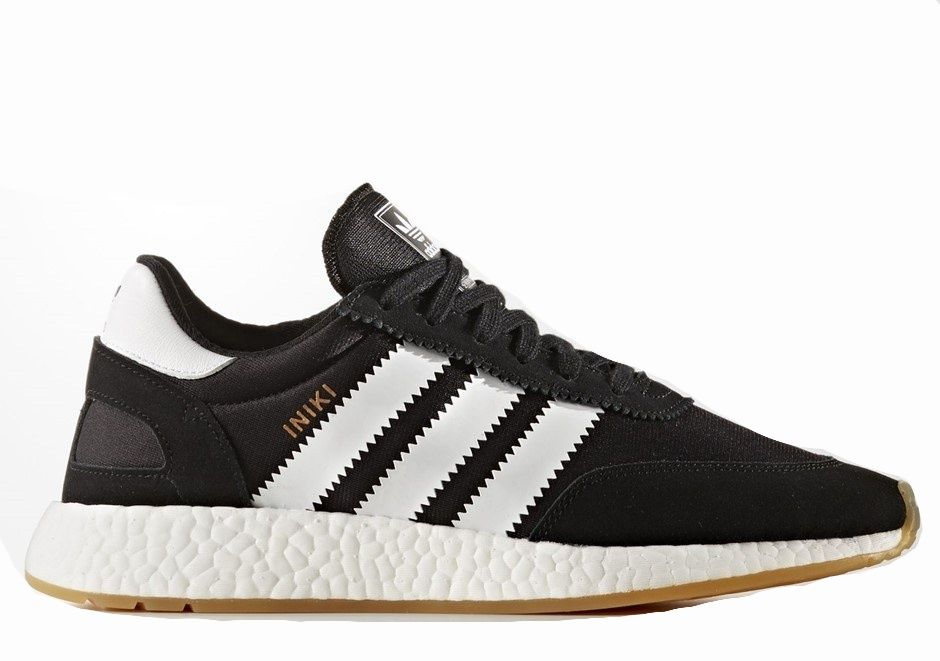 Кроссовки Adidas Iniki Runner Black-White