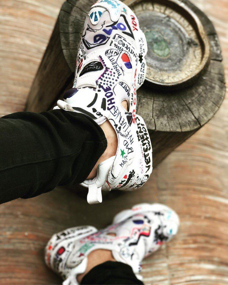Reebok X Vetements Insta Pump Fury