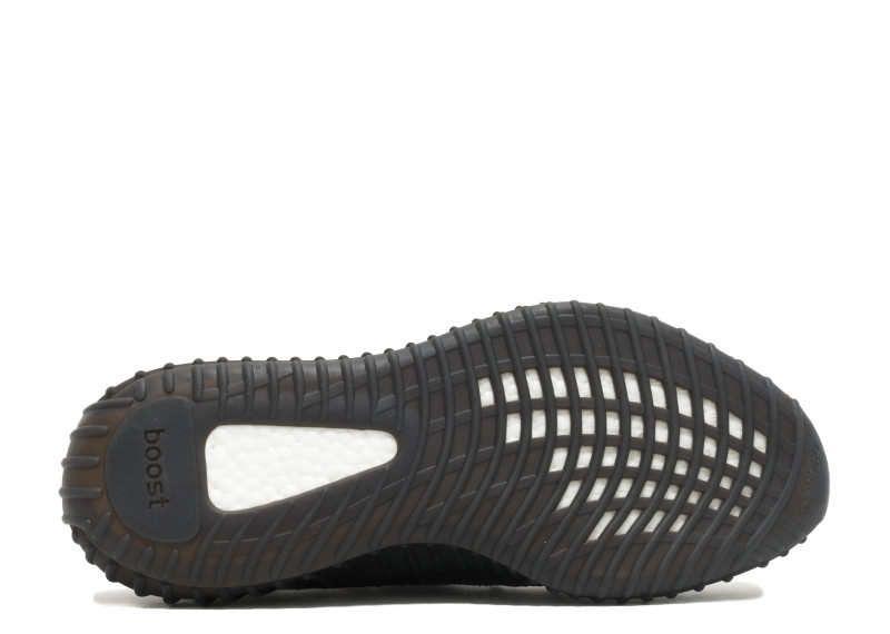 Adidas Yeezy Boost 350 v2 (черные/оранжевые)
