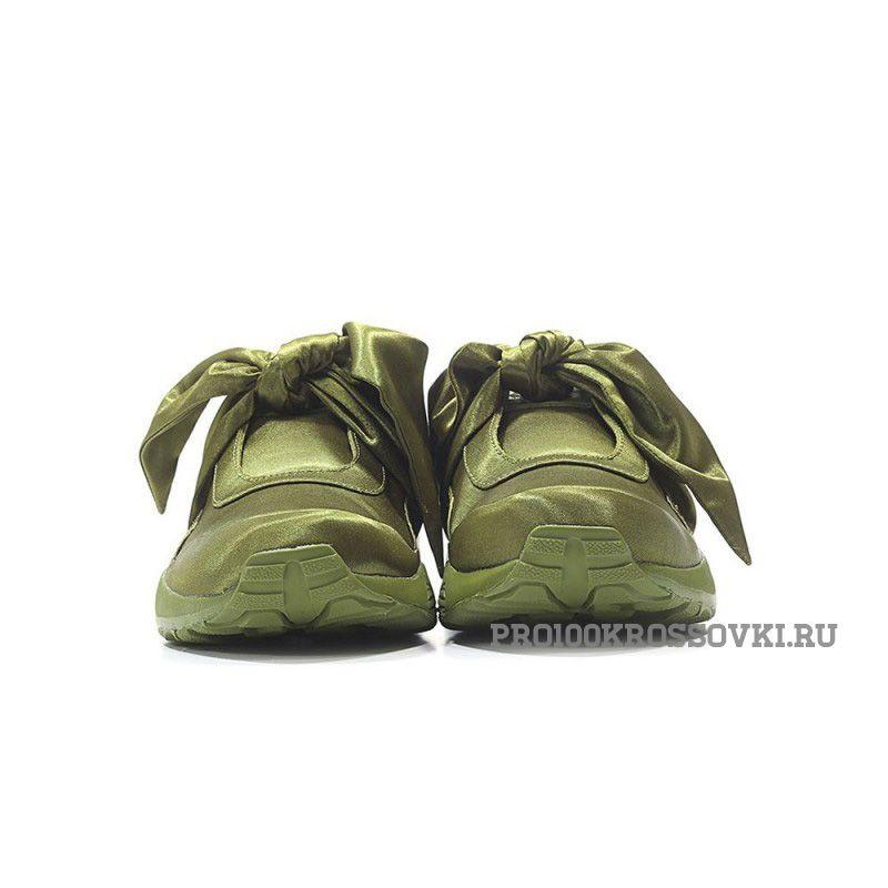 Puma Fenty Bow (Olive/Оливковые)