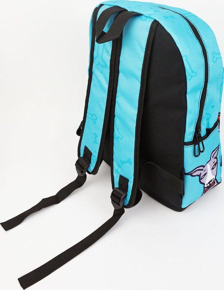 Подростковый рюкзак с принтом щенков