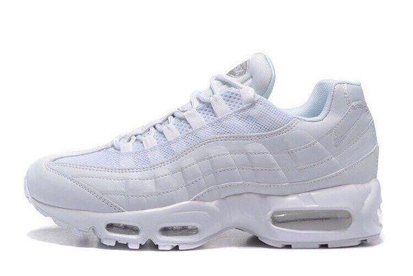 Белые кроссовки Nike Air Max 95 v-2
