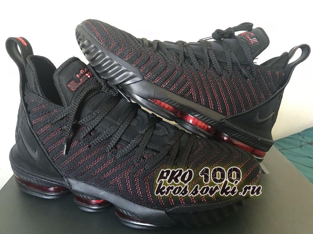 кроссовки Nike LeBron 16 Fresh-Bred