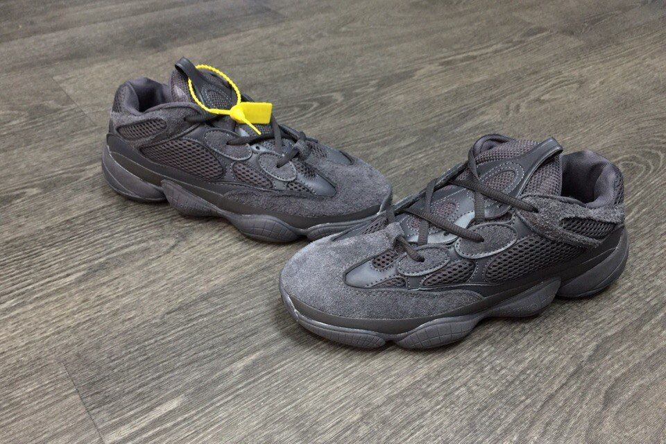 "Adidas Yeezy Boost 500 ""Utility Black"""