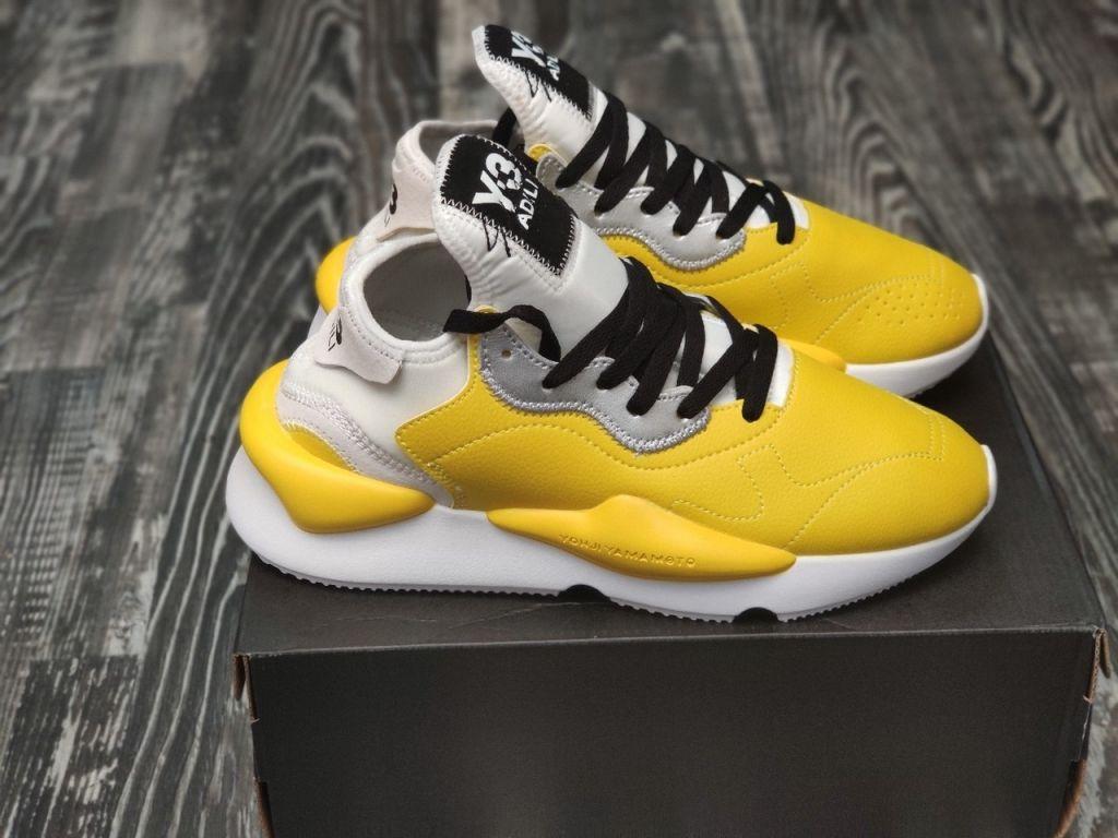 кроссовки Adidas Y-3 Kaiwa Yellow White