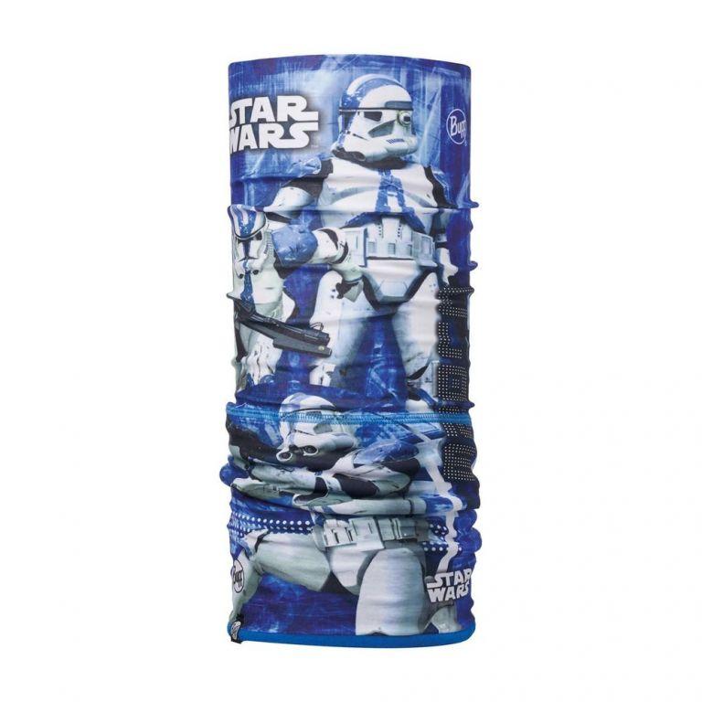 Шарф-труба трансформер детский Buff Clone Blue / Harbor