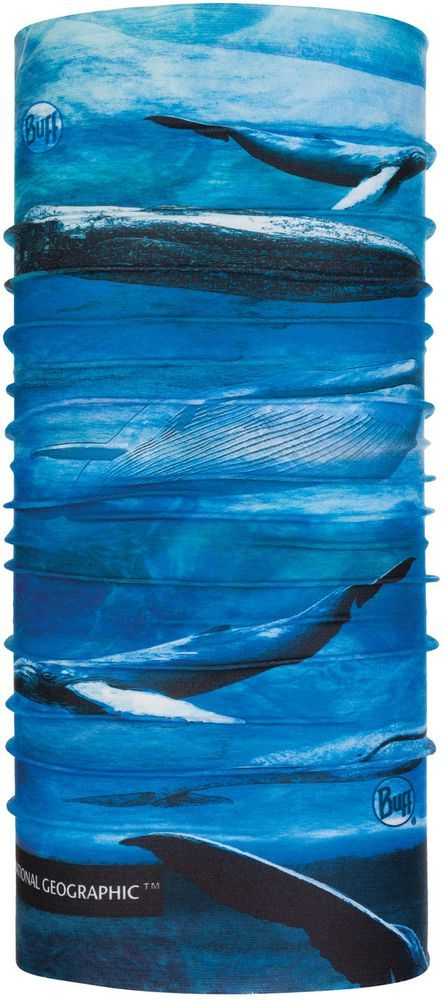 Бандана-труба летняя Buff CoolNet Blue Whale