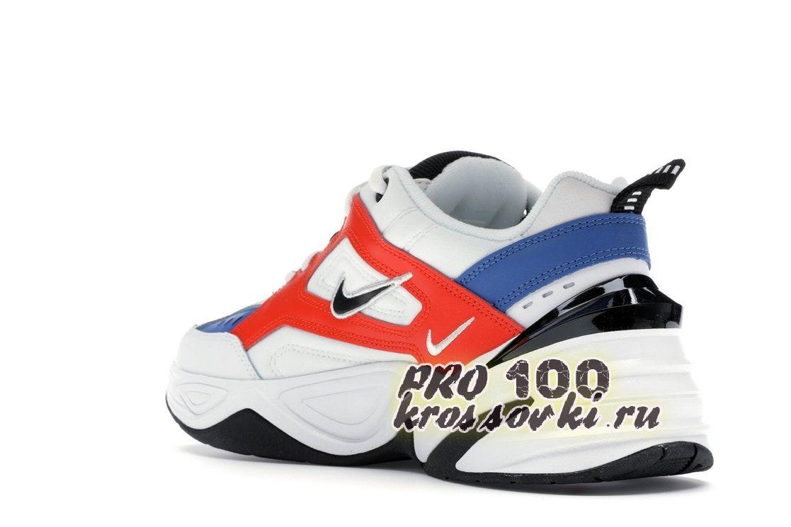 Nike M2K Tekno White Black Orange