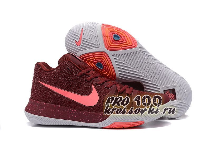Nike Kyrie Irving 3 Basketball Shoes Wine Red
