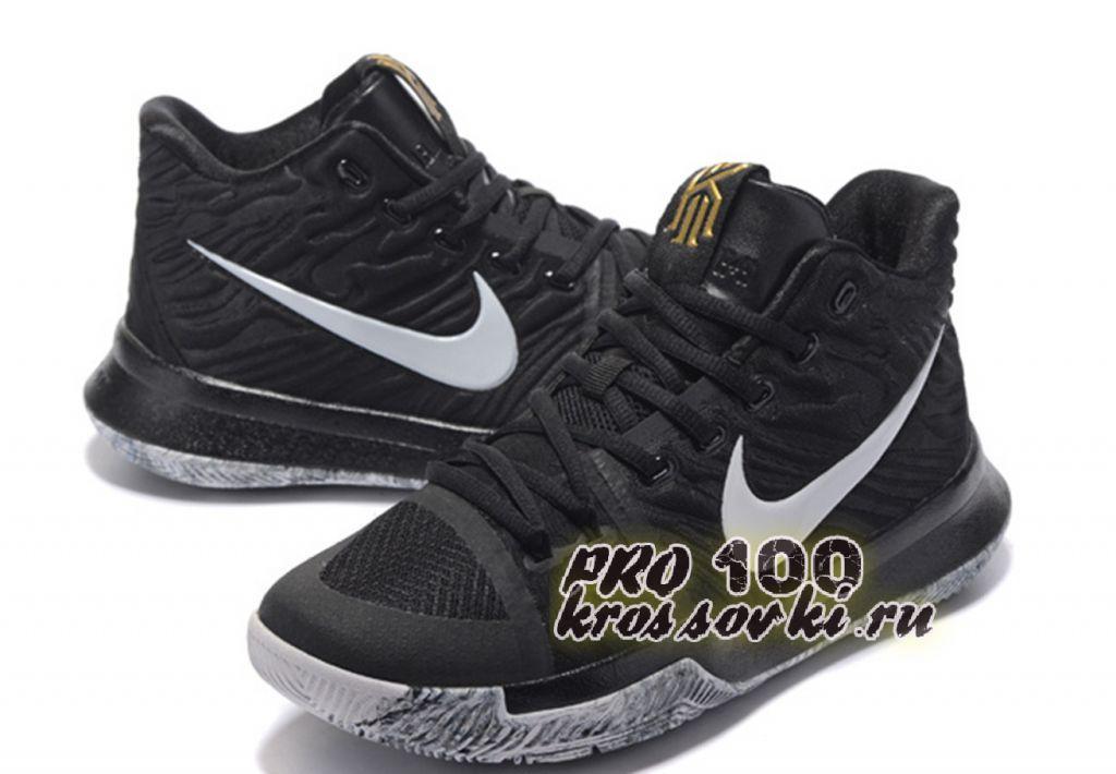 Баскетбольные кроссовки NBA Kyrie Irving 3 Grey Black