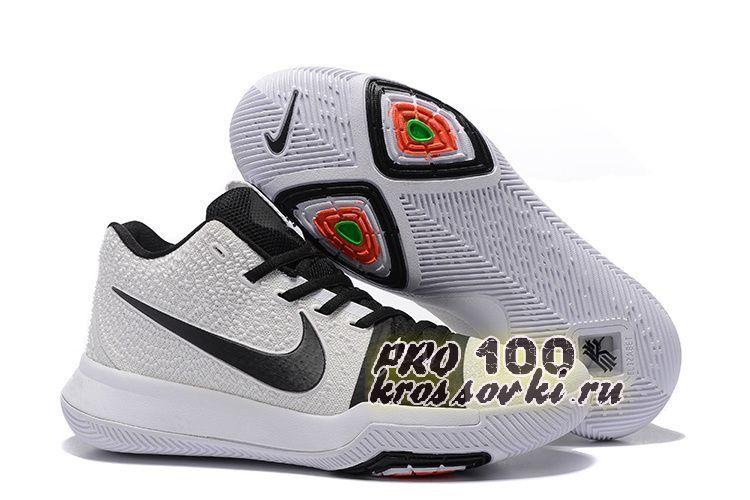 Баскетбольные кроссовки Nike Kyrie Irving 3 Black White