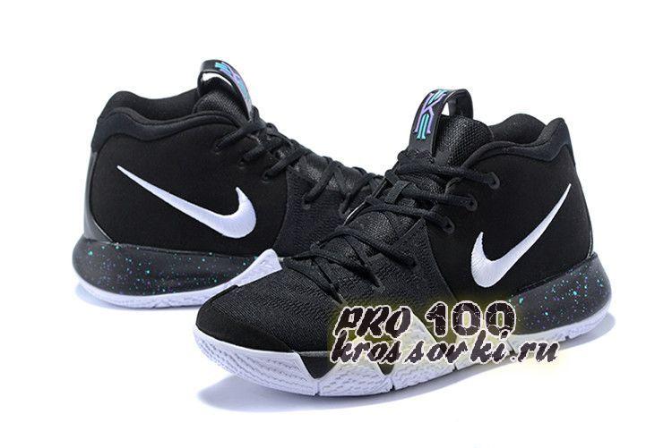 2018 Nike Kyrie 4 Black White Anthracite Light Racer Blue