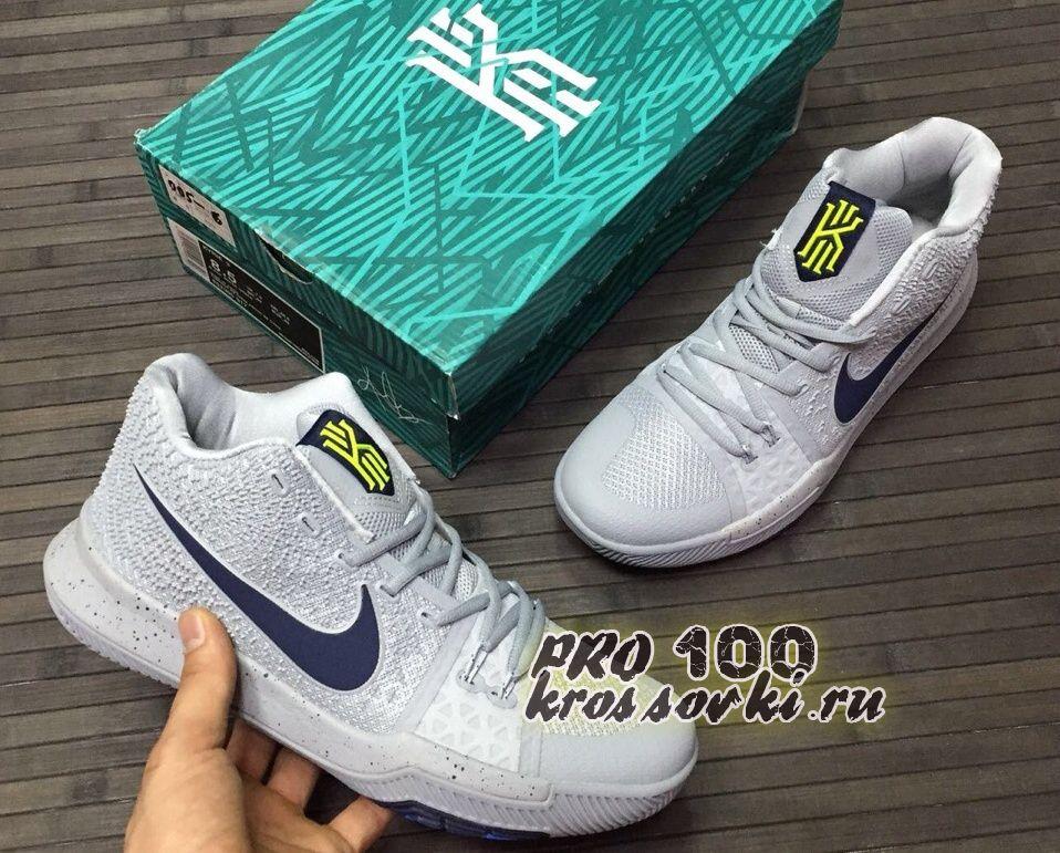 Кроссовки Nike Kyrie 3 White Blue