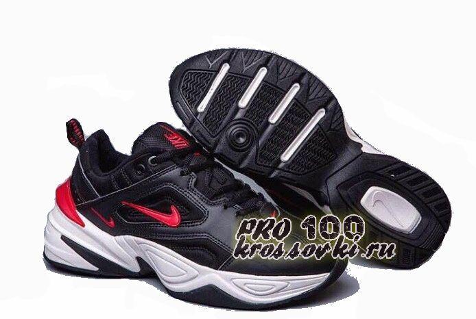 Nike M2K Tekno White Black Red
