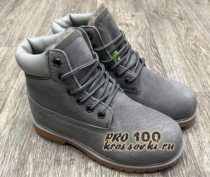Женские Timberland 6 Inch Premium Waterproof Boots серые