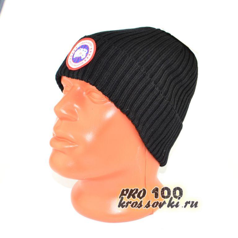 Зимняя мужская шапка Canada Guuse вязаная