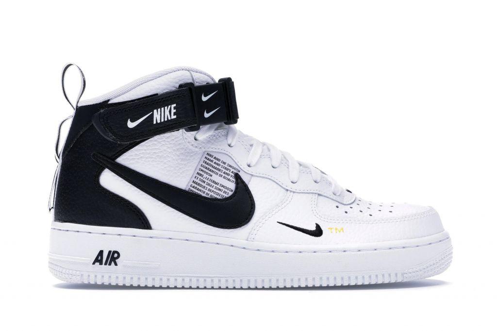 Nike Air Force 1 Mid Utility White Black