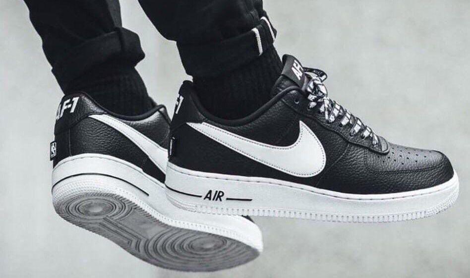 Nike Air Force 1 '07 AF-1  black white