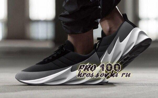 кроссовки Adidas Sharks черно-серые