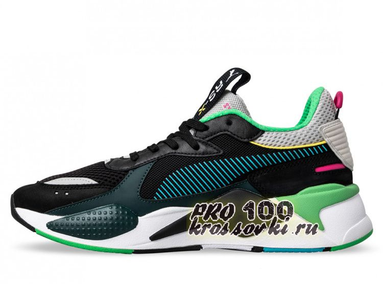 Кроссовки Puma RS-XToys  Black-Blue Atoll