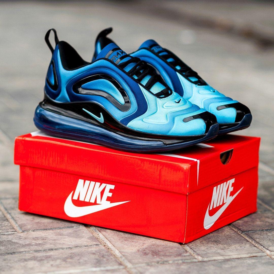 Nike Air Max 720 сине-голубые. 3 варианта