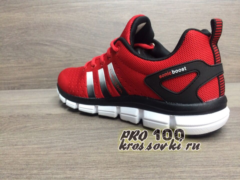 Adidas Climacool  Red Sonic Boost