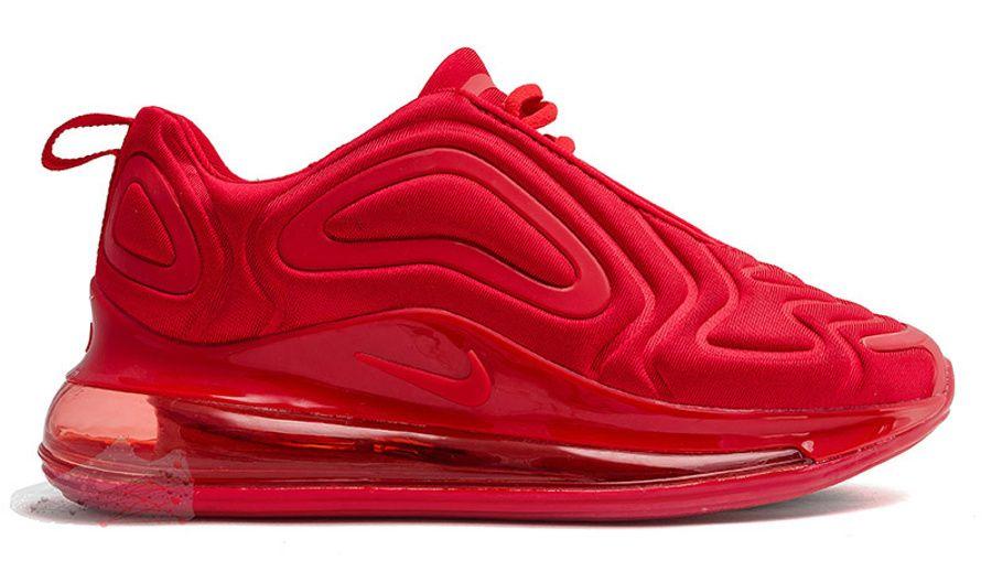 Кроссовки Nike Air Max 720 красные
