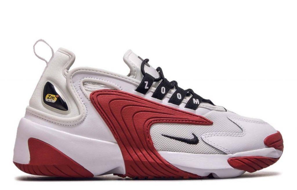 кроссовки Nike Zoom 2K White-Red