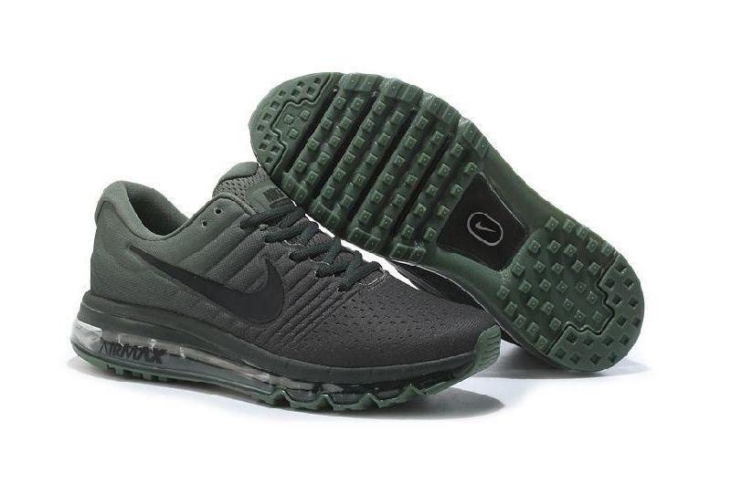 кроссовки Nike Air Max 2017 серо-зеленые